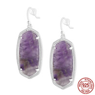LISS - AMETHYST (EARRINGS)