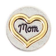 GOLD - MOMS HEART