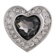 GORGEOUS HEART - SILVER