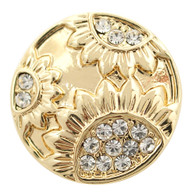GOLD - SUNFLOWERS DIAMONDS