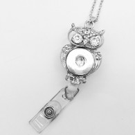 ID HOLDER ROYALTY OWL & LANDYARD PENDANT