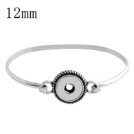 MINI SILVER ROPE TOGGLE BANGLE