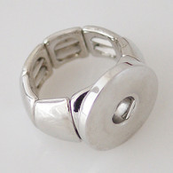 SILVER STRETCH RING