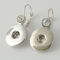EARRING - CRYSTAL SILVER