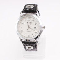 WATCH - LEATHER BLACK (UNISEX)