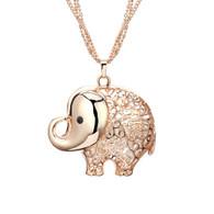 NECKLACE - ROSIE ELEPHANT (RG)