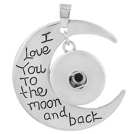 PENDANT - I LOVE U TO THE MOON AND BACK