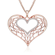 NECKLACE - A KIND HEART (RG)