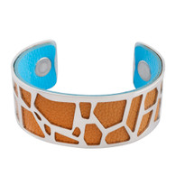 LUXE SS TWO IN ONE BANGLE - GIRAFFE