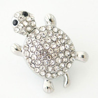 LUXE CLUSTER PAVE TURTLE