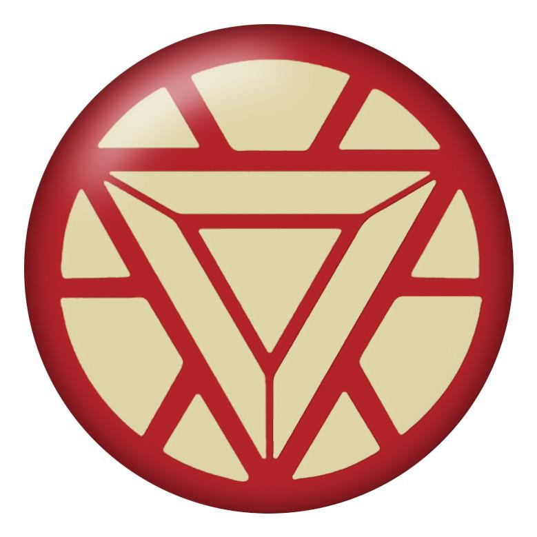 Iron Man Text Symbol