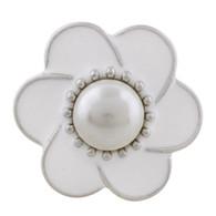 FLOWER - WHITE ZAID PEARL