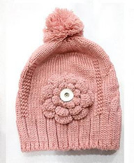 KNIT HAT - PINKY