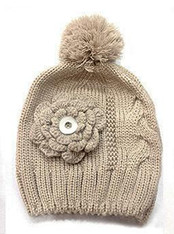 KNIT HAT - CREAM