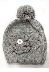 KNIT HAT - SILVERCRAY
