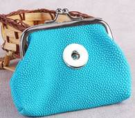 MINI SOFT LEATHER COIN PURSE - TURQUOISE