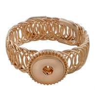 EXQUISITE GOLD ARMBAND - ADJUSTABLE