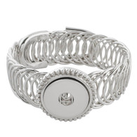 EXQUISITE SILVER ARMBAND - ADJUSTABLE