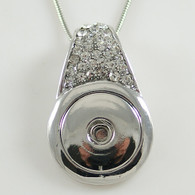 PENDANT - CRYSTAL PAVE