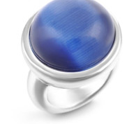 Z-CHARM SILVER ROYAL STONE RING