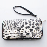 WALLET - WHITE LEOPARD