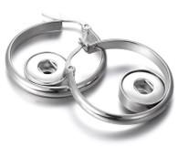 EARRING - MINI HOOPS (LUXE SS)