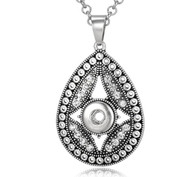PENDANT - MAJESTY  DROP MARCASITE