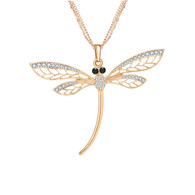 NECKLACE - DRAGONFLY (GOLD)