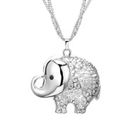 NECKLACE - ROSIE ELEPHANT (SILVER)
