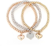 STRETCH BOHO -CUPID HEARTS BRACELET