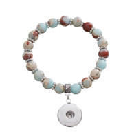STRETCH BRACELET - EARTH STONES