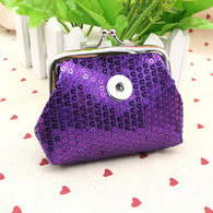 MINI GLAZEN COIN PURSE - VIOLET