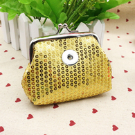 MINI GLAZEN COIN PURSE - GOLD