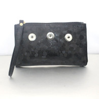 MAKE UP GLITZ BAG - BLACK