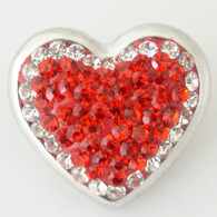 RED DIAMOND CLUSTER HEART