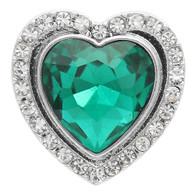 STARBURST HEART - EMERALD