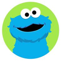 PE- INSPIRED COOKIE MONSTER