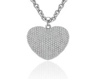 NECKLACE - PURE LOVE (SILVER)