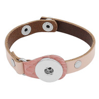 BRACELET - CENTURION LEATHER (PINK)