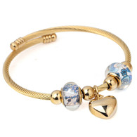 CHARMBEADS (LUXE SS) - LOVING SOMEONE BLUES (GOLD)