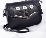 LEAVES BAG - BLACK