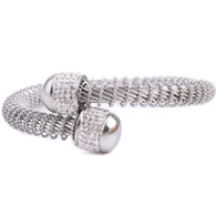 CHARMBEADS (LUXE SS) SWIRL (SILVER)