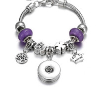 CHARMBEADS - LITTLE PRINCESS (PURPLE)
