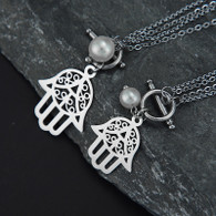 LUXEPEARL CHAKRA SET (STAINLESS STEEL - SILVER)