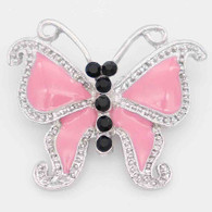 BUTTERFLY - PINK BLACK