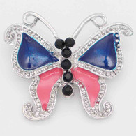 BUTTERFLY - PINK NAVY