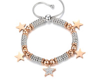 LUXE BEADS BRACELET - ROMANTIC STAR