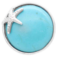 SILVER STAR IN TURQUOISE