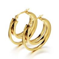 LUXE EARRINGS (316L) - GOLD