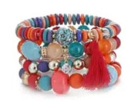 BANGLE - BELICE STONES (SEALIFE COLORS)